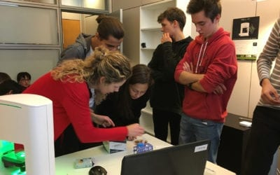 Young scientists @ Nanolive
