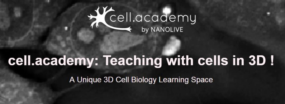 Join our free webinar on May the 2nd: Teaching with cells in 3D!