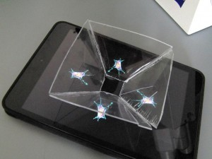 Watch living cells in a self-build 3D hologram projector!